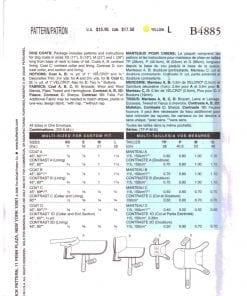 Butterick B4885 J 1