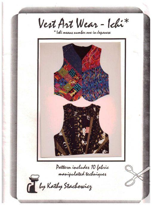 Kathy Stachowicz Vest Art Wear Ichi