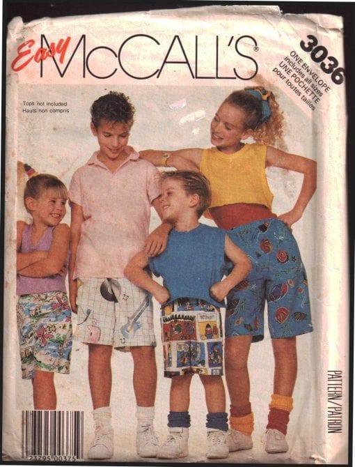 McCalls 3036 J