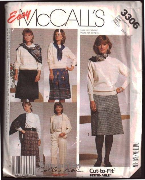 McCalls 3306 J