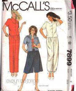 McCalls 7899 M