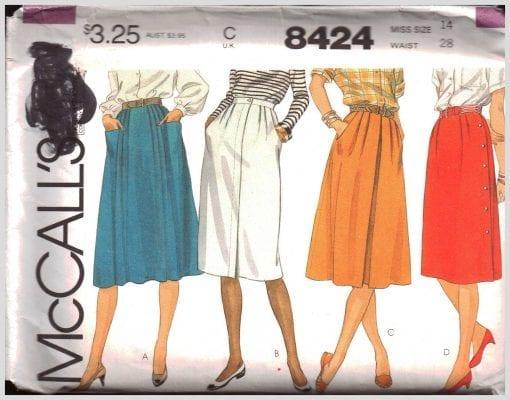 McCalls 8424 J