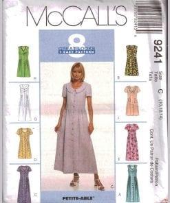 McCalls 9241 J
