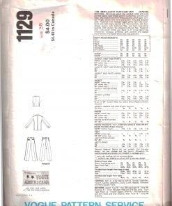 Vogue 1129 J 1