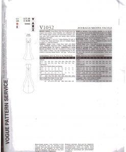 Vogue V1032 J 1