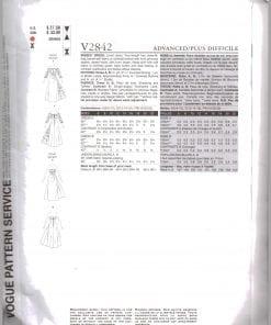 Vogue V2842 J 1