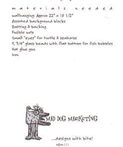 Mad Dog Marketing Wall Hanging 1
