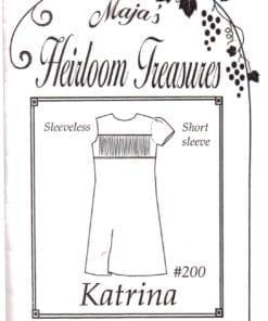 Maja's Heirloom Treasures Sewing Patterns