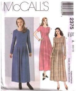 McCalls 2375 J