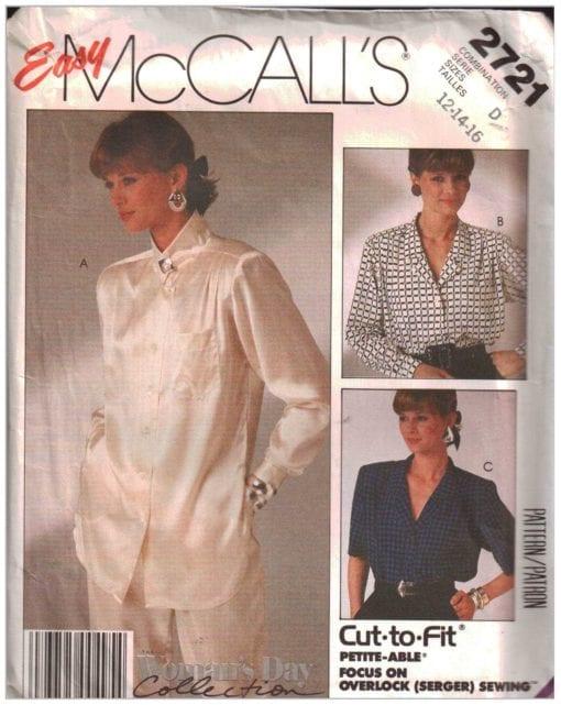 McCalls 2721