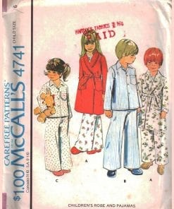 McCalls 4741 J