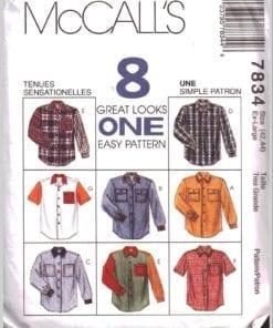 McCalls 7834 J