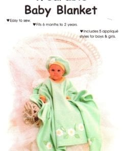 Sew Baby Wereable Baby Blanket