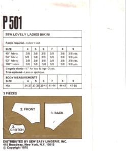 Sew Lovely P501 1
