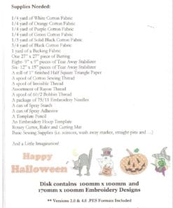 Sew Precious Halloween Wall 1