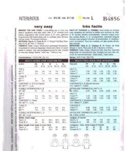 Butterick B4856 1