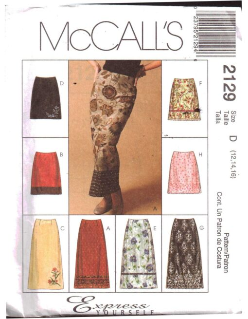McCalls 2129 S