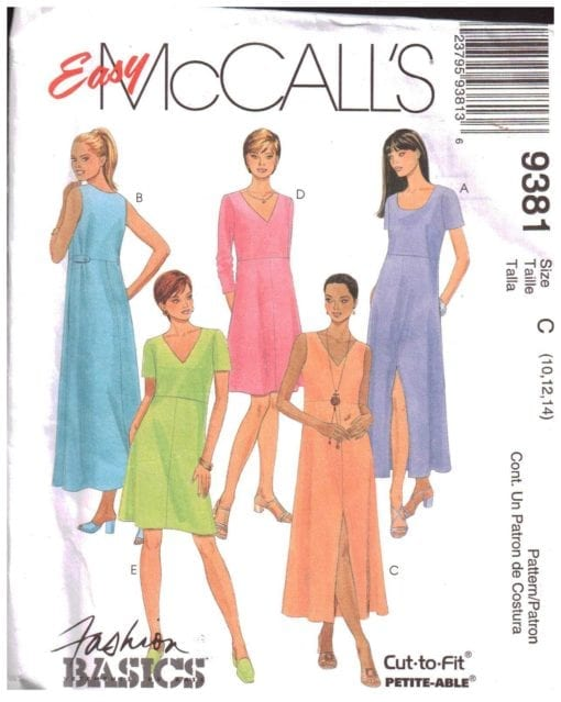McCalls 9381