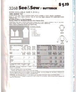 Butterick 3268 O 1