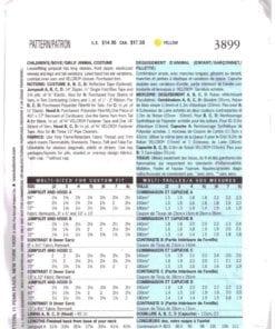 Butterick 3899 N 1