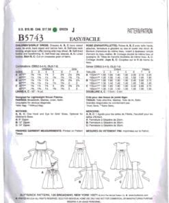 Butterick B5743 O 1