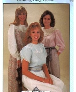 Cheryl Williams Pattern Ladies Wedding Ring Blouse O