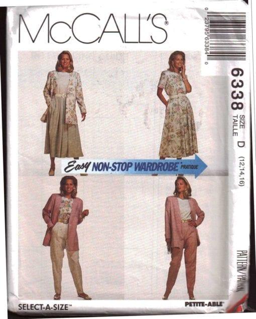 McCalls 6388 O