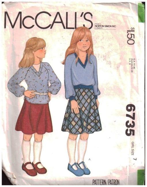 McCalls 6735 O