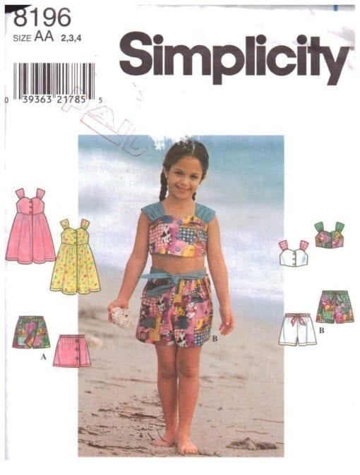 Simplicity 8196 N