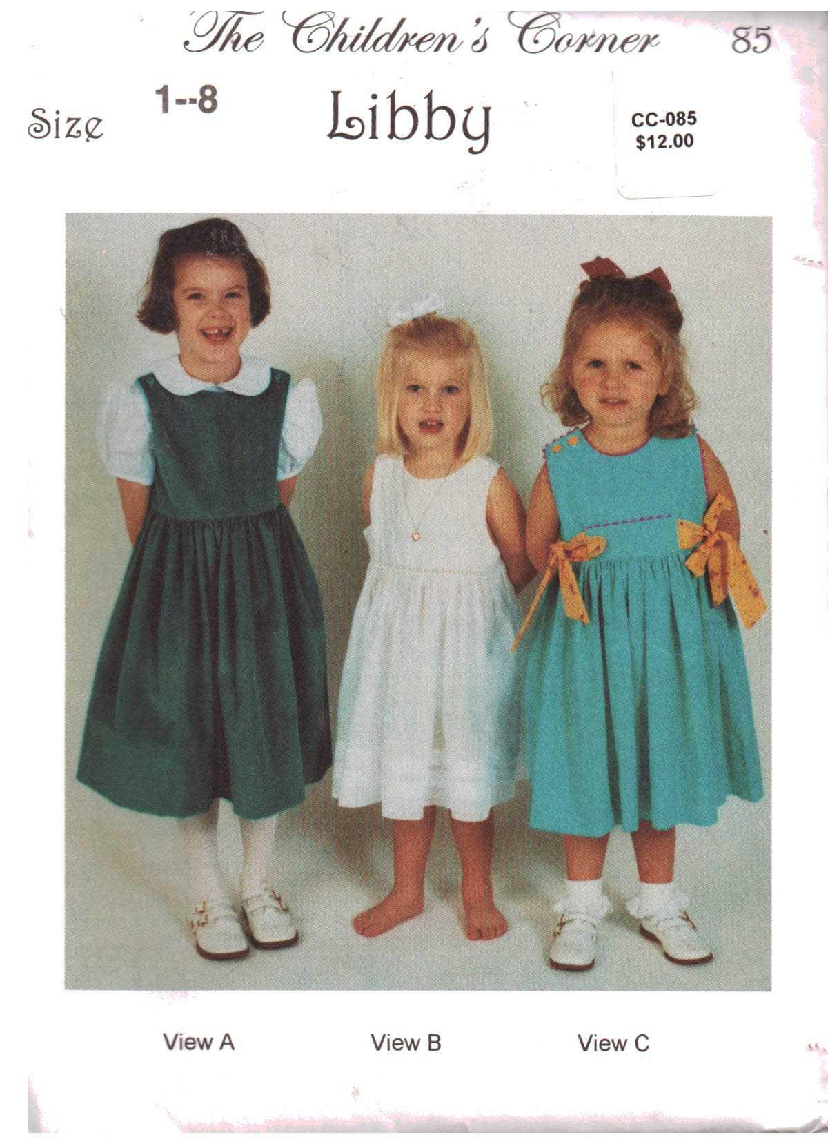 fa3f14563 Sewing Patterns - Pattern-Walk The Children's Corner sewing patterns