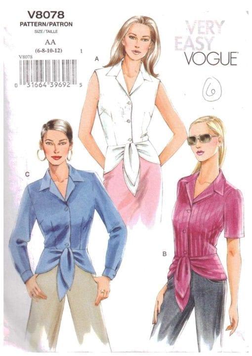Vogue V8078 O