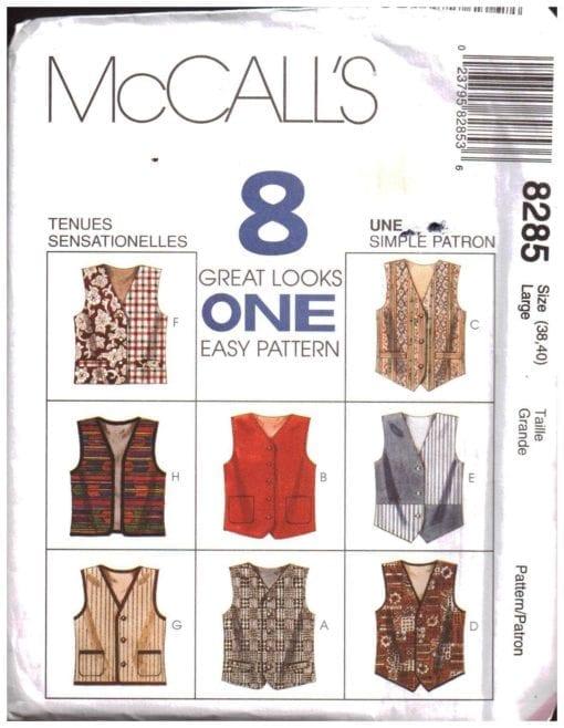 McCalls 8285