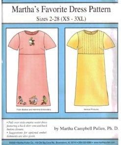 Martha Campbell Pullen Favorite Dress
