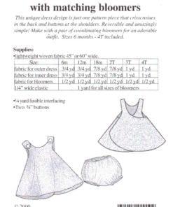 Sew Baby Reversible Sundress 1