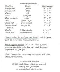 The Wobbles Collection Klaus 1