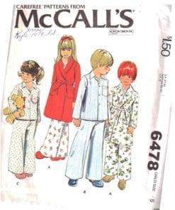 McCalls 6478 M