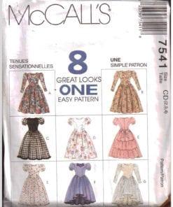 McCalls 7541 M