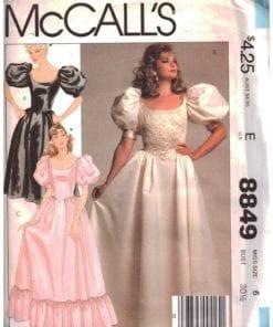 McCalls 8849 M