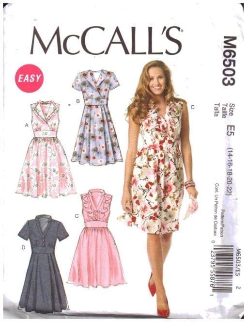 McCalls M6503 M