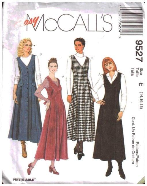 McCalls 9527 M