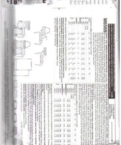 McCalls M6569 M 1