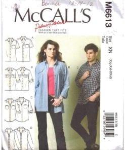McCalls M6613 M