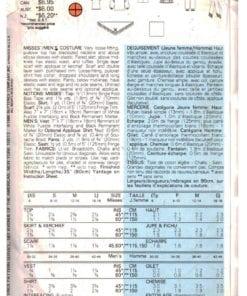 Butterick 6731 J 1