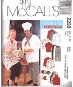 McCalls 2233 J
