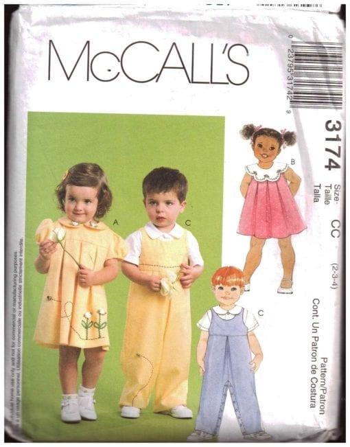 McCalls 3174 J