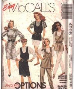 McCalls 4995 J
