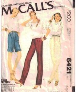 McCalls 6421 J