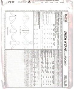 McCalls M4639 J 1