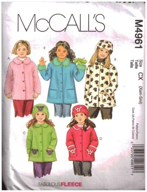 McCalls M4961 J
