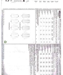 McCalls M6084 J 1